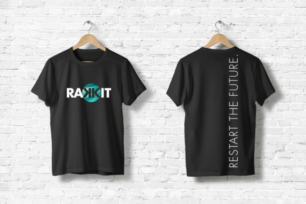 Rakkit Restart the future Shirt black