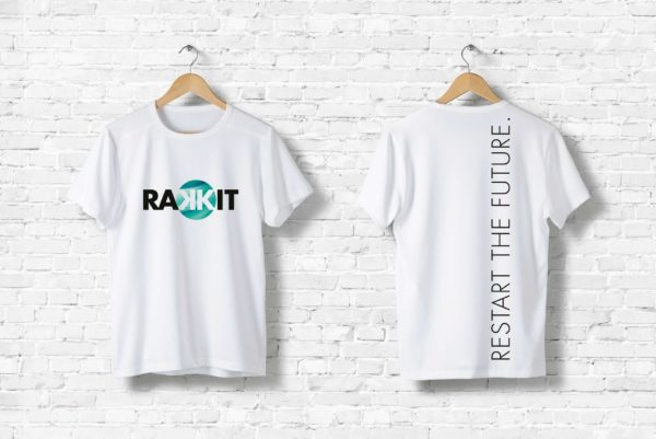 Rakkit Restart the future Shirt black